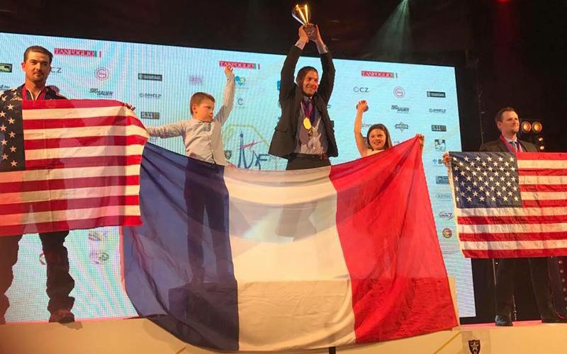 World Shoot 2017 Standard Division podium France